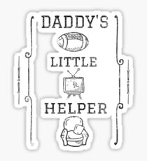Daddy's Little Helper Sticker