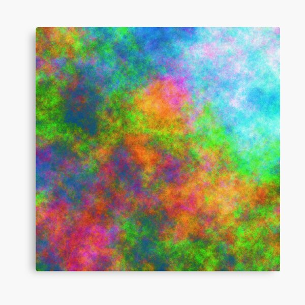 Abstraction of underwater forest Canvas Print