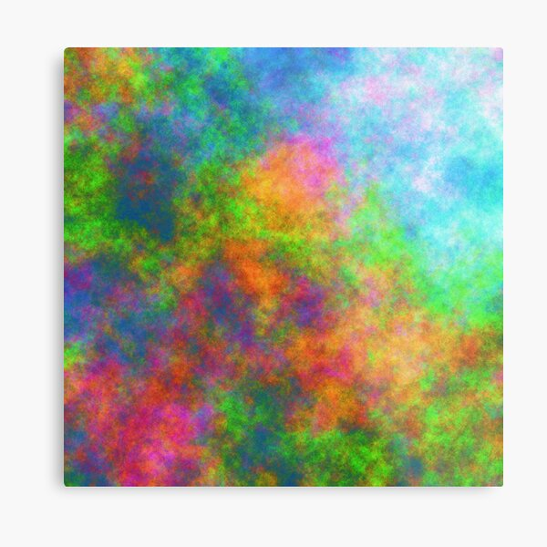 Abstraction of underwater forest Metal Print