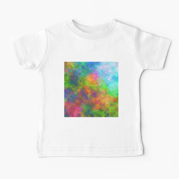 Abstraction of underwater forest Baby T-Shirt