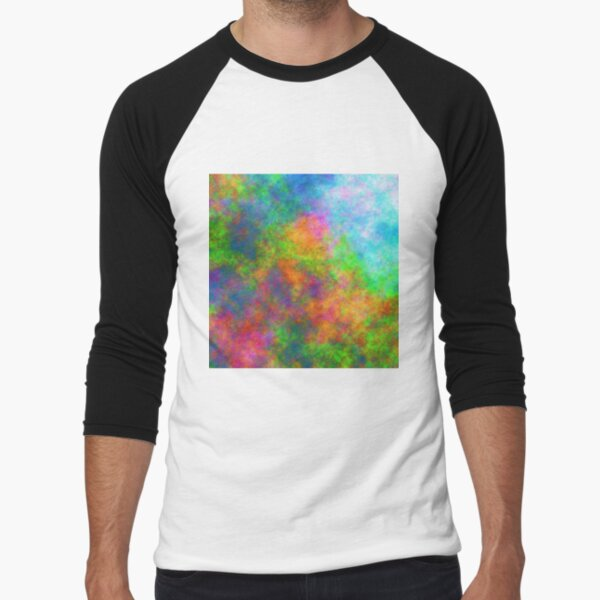 Abstraction of underwater forest Baseball ¾ Sleeve T-Shirt