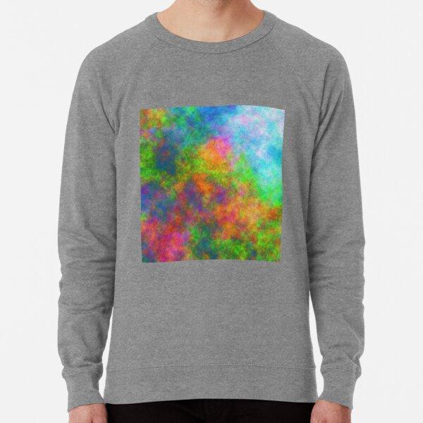 Abstraction of underwater forest Lightweight Sweatshirt