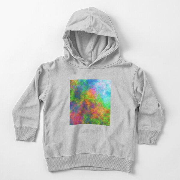 Abstraction of underwater forest Toddler Pullover Hoodie