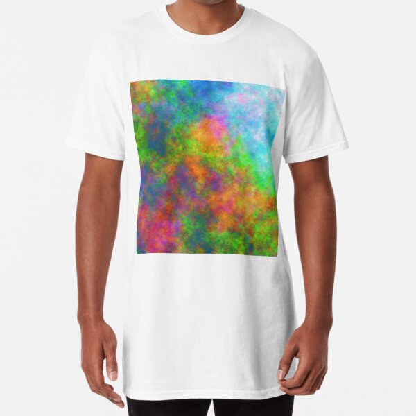 Abstraction of underwater forest Long T-Shirt