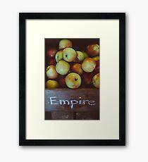 Empire Apples Framed Print