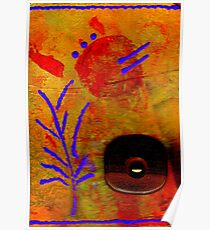 The Flower We Saw on Wooden Pond  Poster
