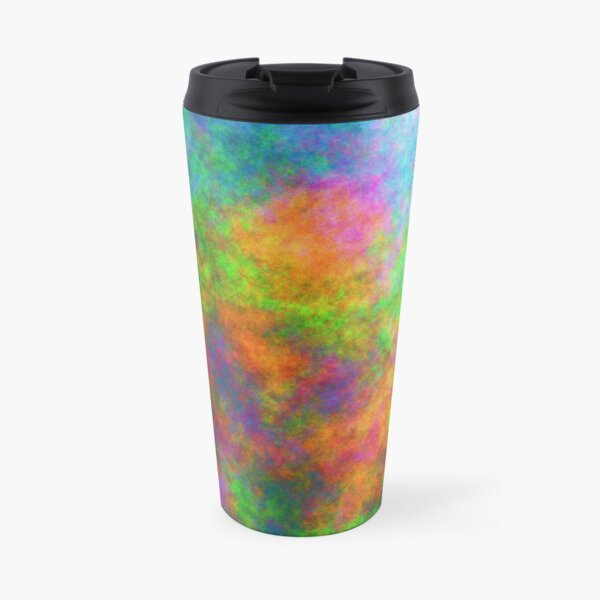 Abstraction of underwater forest Travel Mug