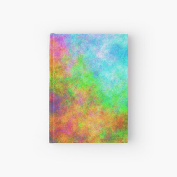 Abstraction of underwater forest Hardcover Journal