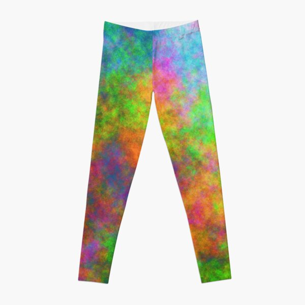 Abstraction of underwater forest Leggings