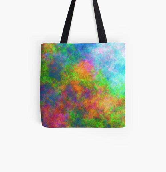 Abstraction of underwater forest All Over Print Tote Bag