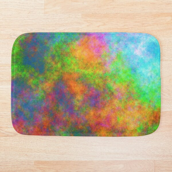 Abstraction of underwater forest Bath Mat