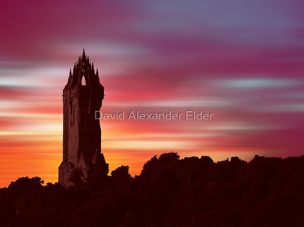 Braveheart Dawn by David Alexander Elder