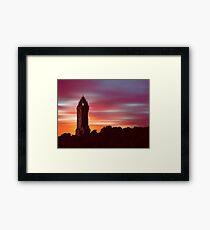 Braveheart Dawn Framed Print