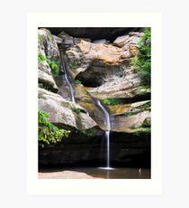 Cedar Falls, Hocking Hills, Ohio Art Print