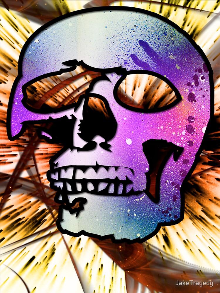 Space Case skull by JakeTragedy