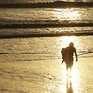 Surf god rises by Malin Nordlund
