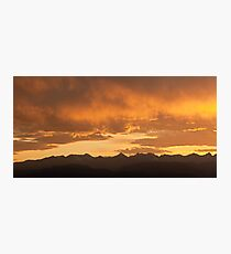 Colorado Crown Photographic Print