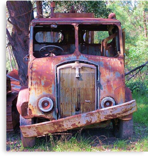 Meet Rusty, the old Thornycroft Trusty by Michael John