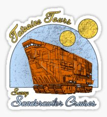Tatooine Tours Sticker