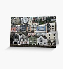 Bayard's Cove, Dartmouth, Devon Greeting Card