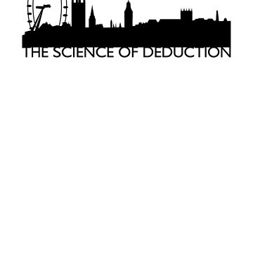The Science Of Deduction - BLACK by Ashqtara
