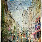 Rue de Rollebeek, Sablon, Brussels – Forgotten Postcard by Alison Cornford-Matheson