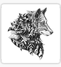 Wolf Profile Sticker
