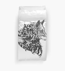 Wolf Profile Duvet Cover