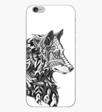 Wolf Profile iPhone Case