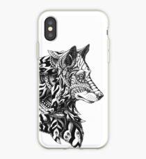 Wolf Profile iPhone Case