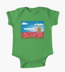 Windmill and Tulips 3 Kids Clothes