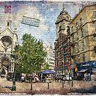 Sainte Catherine, Brussels, Forgotten Postcard by Alison Cornford-Matheson
