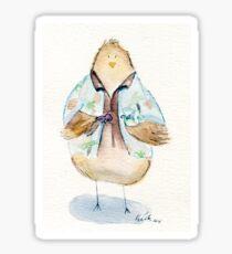 Hoban Washbird- Firefly Nerdy Birdy Sticker