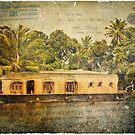 Kerala Backwaters, India – Forgotten Postcard by Alison Cornford-Matheson