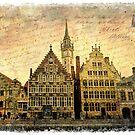 Ghent, Belgium – Forgotten Postcard by Alison Cornford-Matheson