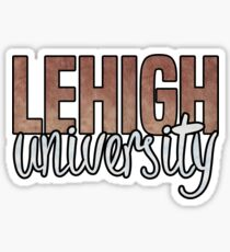 Lehigh Two Tone Sticker