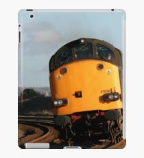 Vintage diesel engine, a class, loco 37038 iPad Case/Skin