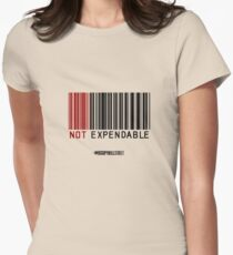 NOT EXPENDABLE Womens Fitted T-Shirt