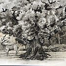 The broad oak Sherwood forest. by Robert David Gellion