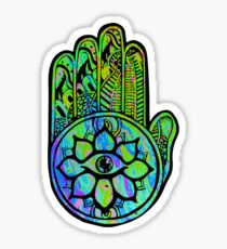 Psychedelic Magic Hand Sticker