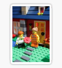 A Lego Mother's Day  Sticker