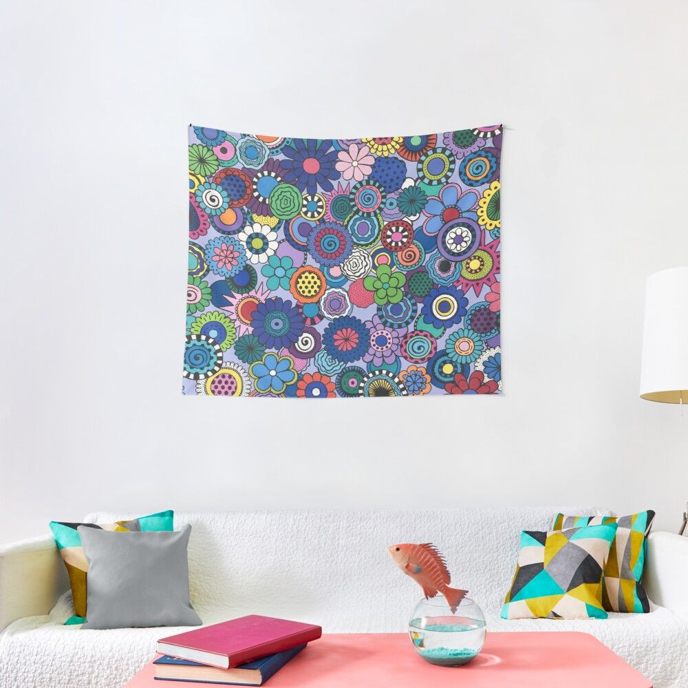 Time to Bloom Tapestry