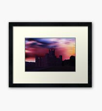 Downton Abbey Dusk Framed Print