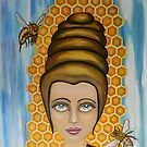 Queen Bee and the nectar of the gods by ClaudiaTuli