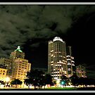 Milwaukee at night © by Dawn Becker