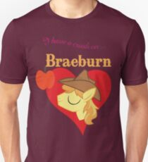 I have a crush on... Braeburn - with text T-Shirt