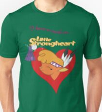 I have a crush on... Little Strongheart - with text Unisex T-Shirt