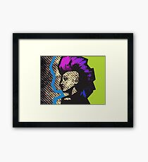Punk Toxic Framed Print