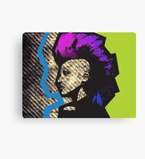 Punk Toxic Canvas Print