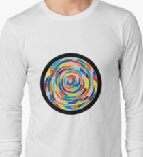 Swirling Abyss Long Sleeve T-Shirt